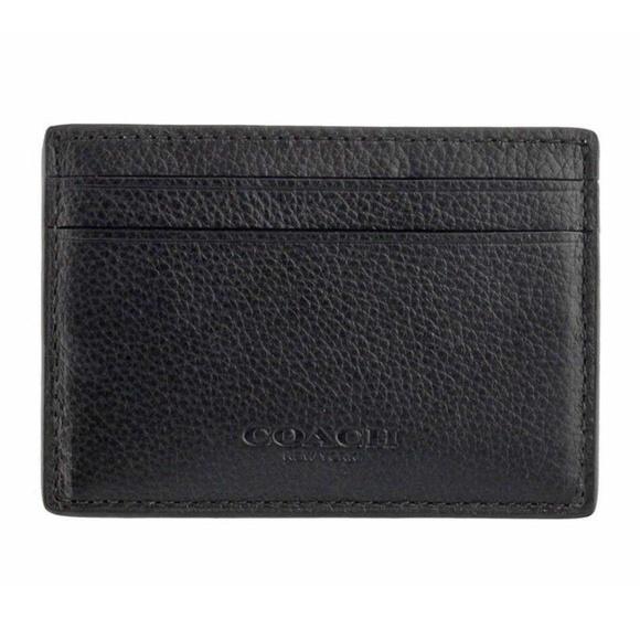 f42fa553c549 Coach Men s Money Clip Card Holder Case Wallet